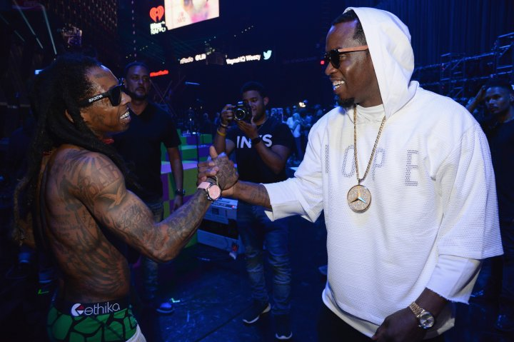 Wayne and Diddy often chop it up about boss talk.