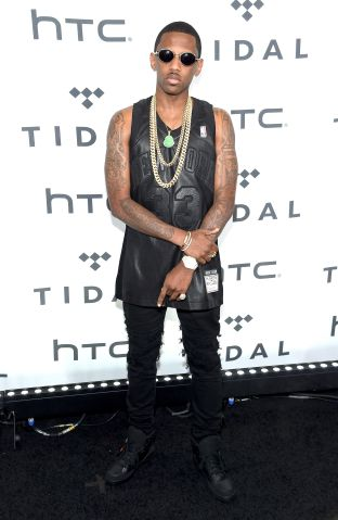 Fabolous arrives to Tidal X 10/20 concert in Brooklyn
