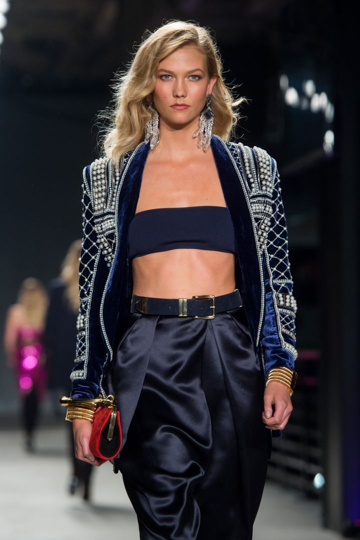 Karlie Kloss' flawless physique could not be missed.