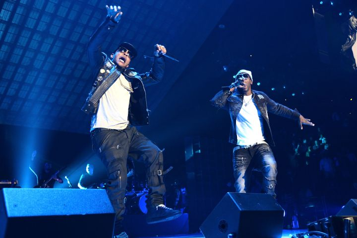 T.I. and Dro came through with a high energy performance.