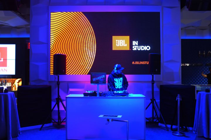 "DJ Wonder Djing at JBL's ""Pulse 2"" Launch Event"