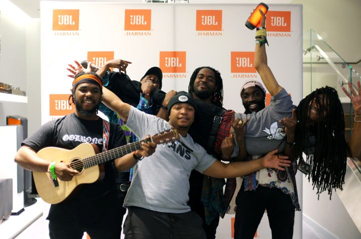 """Phony PPL Celebrate The Launch Of JBL's """"Pulse 2"""""""