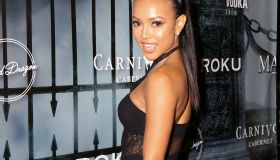 Karrueche Tran at MAXIM Magazine's Official Halloween Party