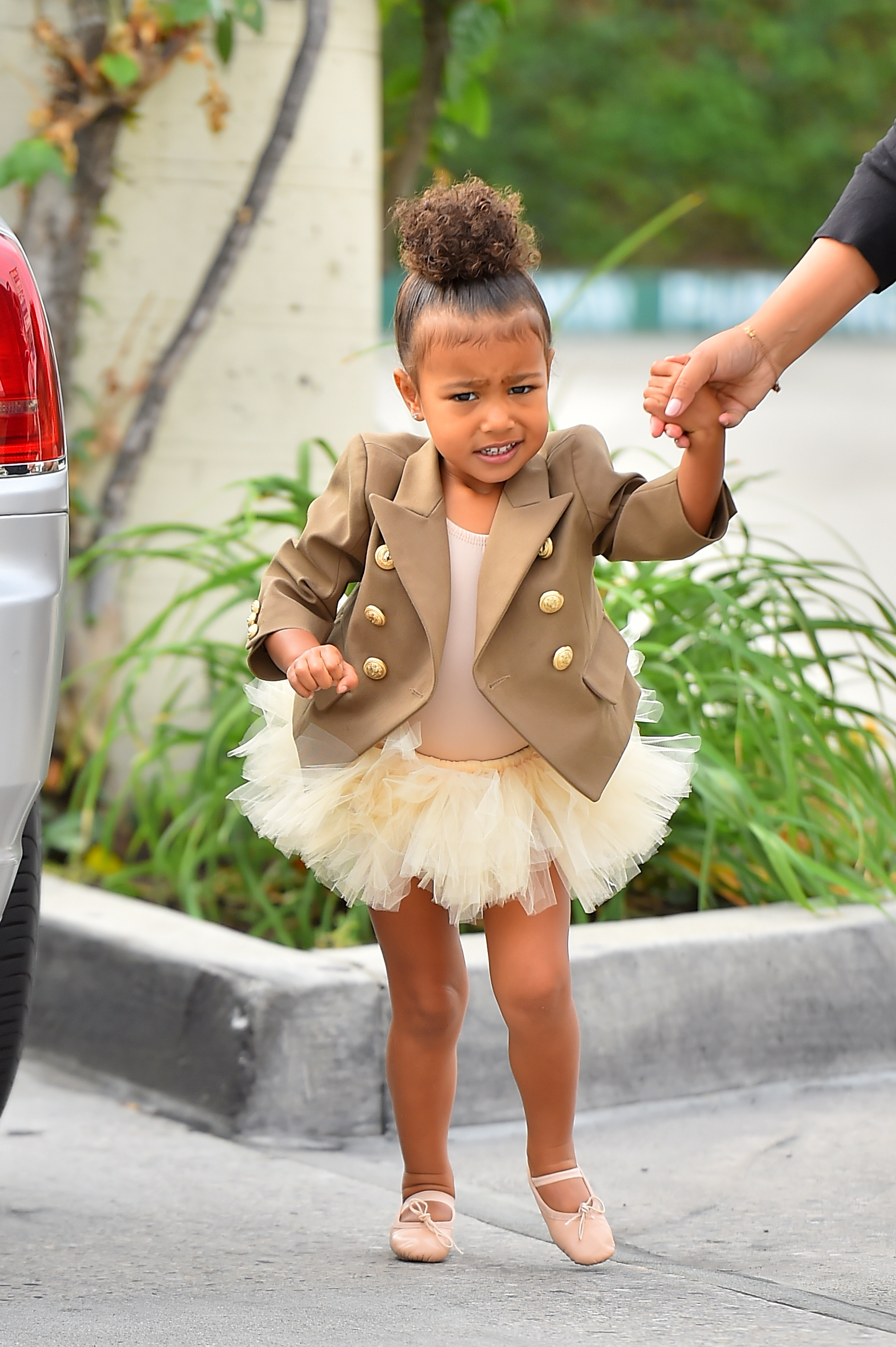 North West in Beverly Hills