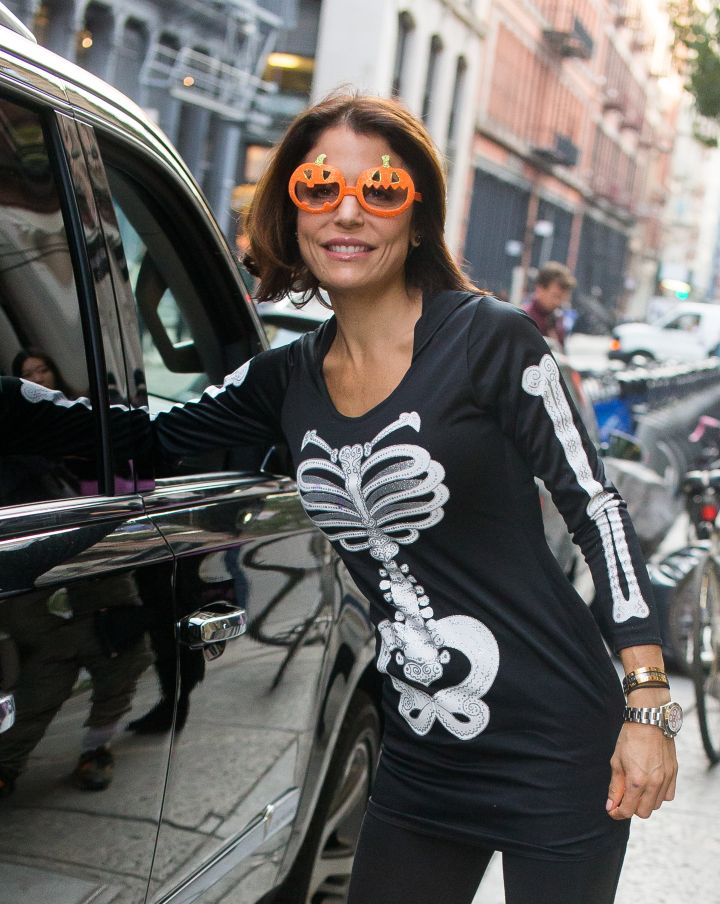 Bethenny Frankel showed off her Halloween spirit in NYC.