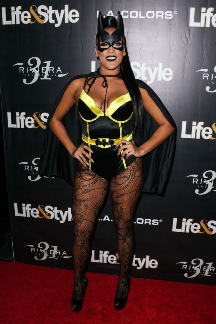 Natalie Nunn hit up the Life & Style party as Batwoman.