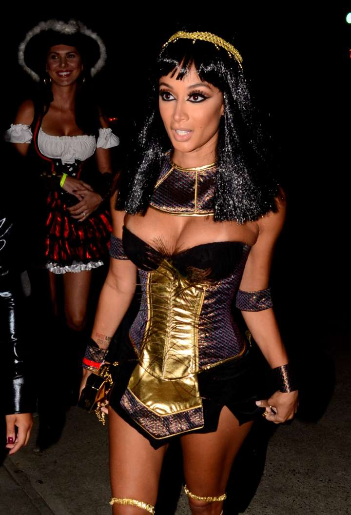 Draya Michele hit up Maxim's Halloween party as a super sexy Cleopatra.