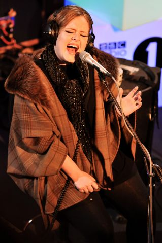 Adele Performs For Radio 1 Live Lounge Special