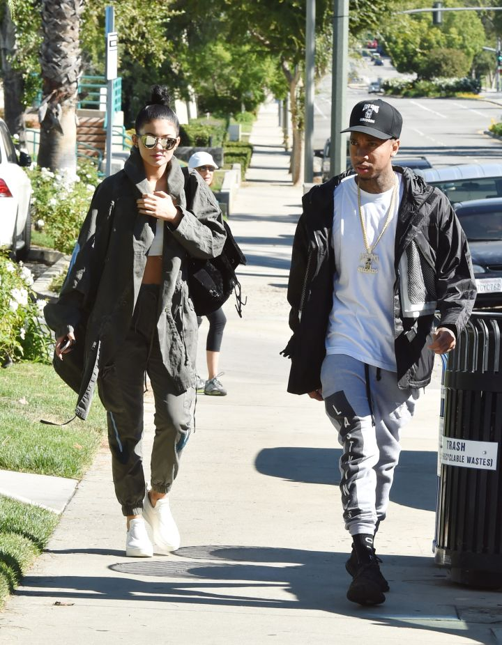 Day dates with Kylie and Tyga.