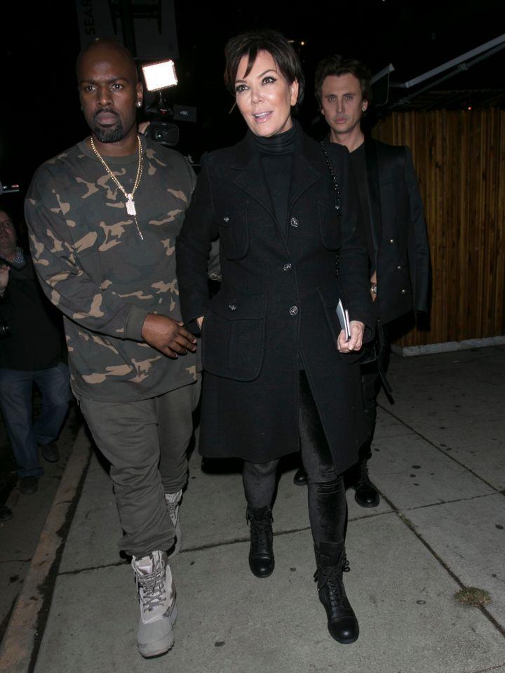 Kris Jenner & Corey Gamble.