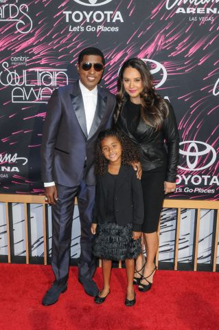 Babyface and his family