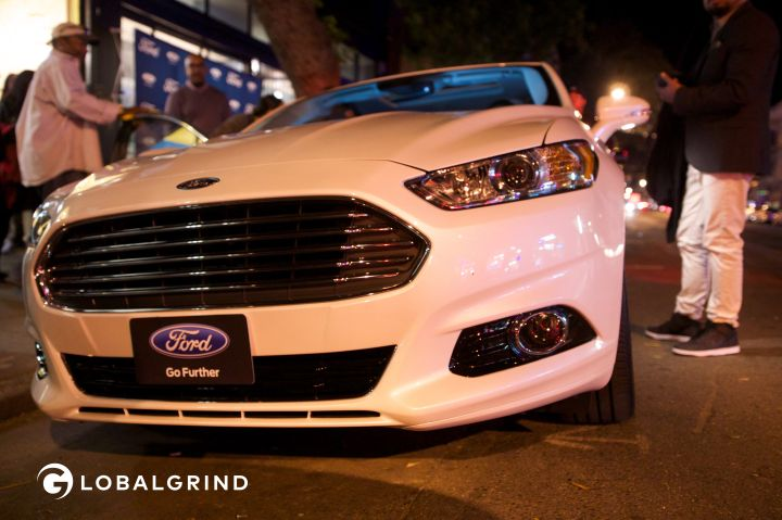 The 2016 Ford Fusion.