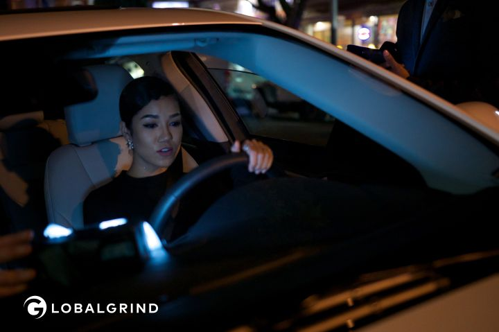 Jhene Aiko drives the 2016 Ford Fusion.
