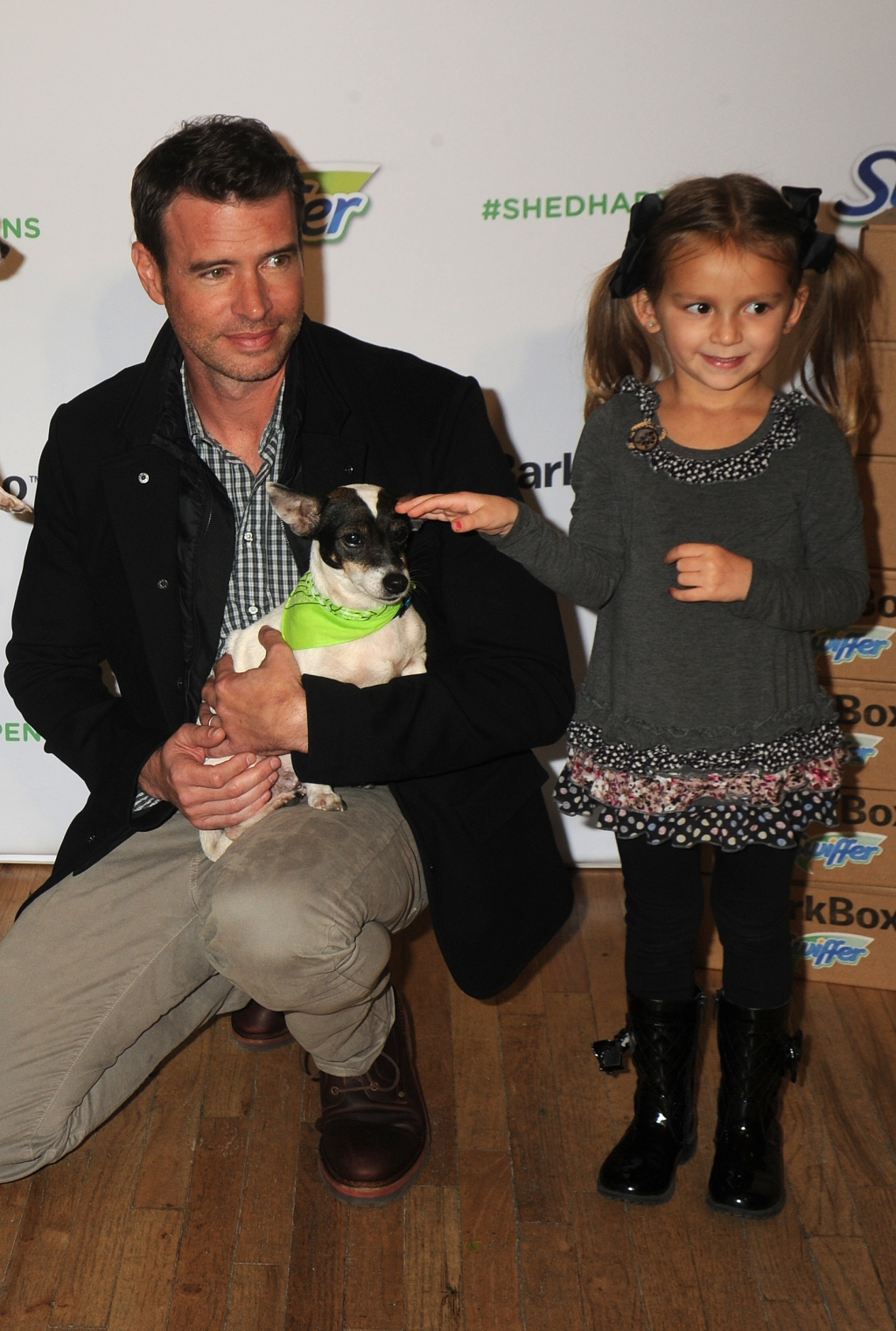 Holiday Pet Adoption Event Hosted By Scott Foley