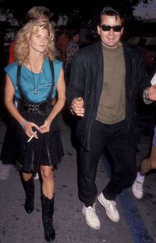 Charlie Sheen & Ginger Lynn