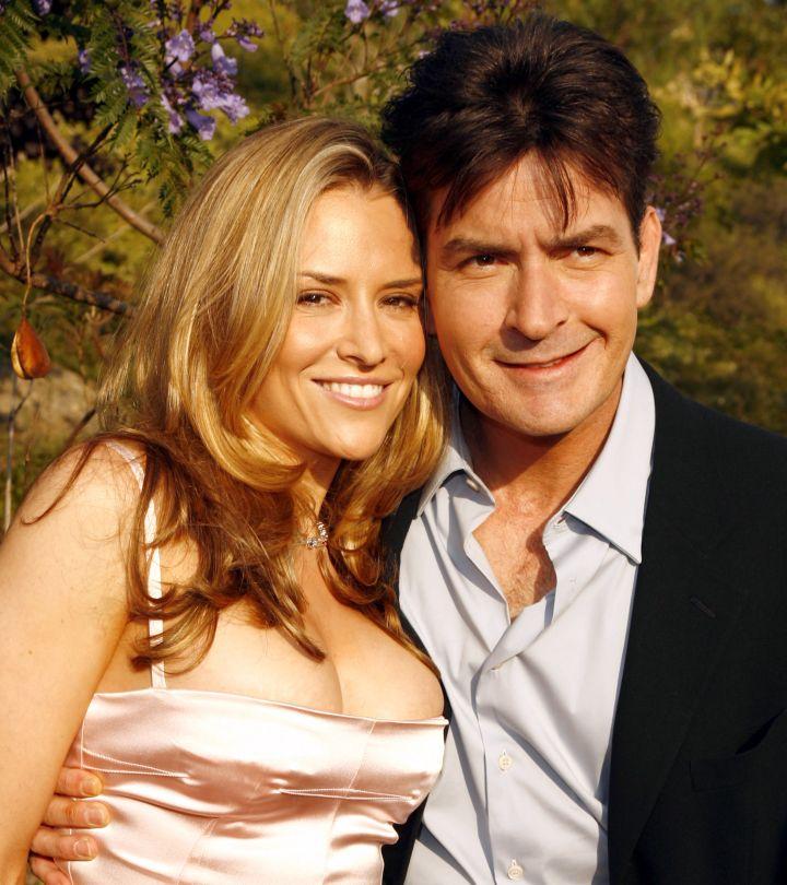 Charlie Sheen & Brooke Mueller