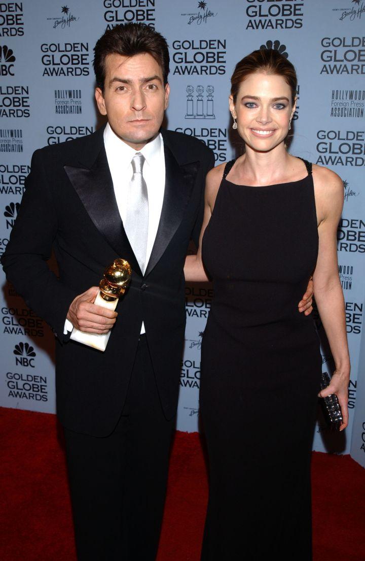 Charlie Sheen & Denise Richards
