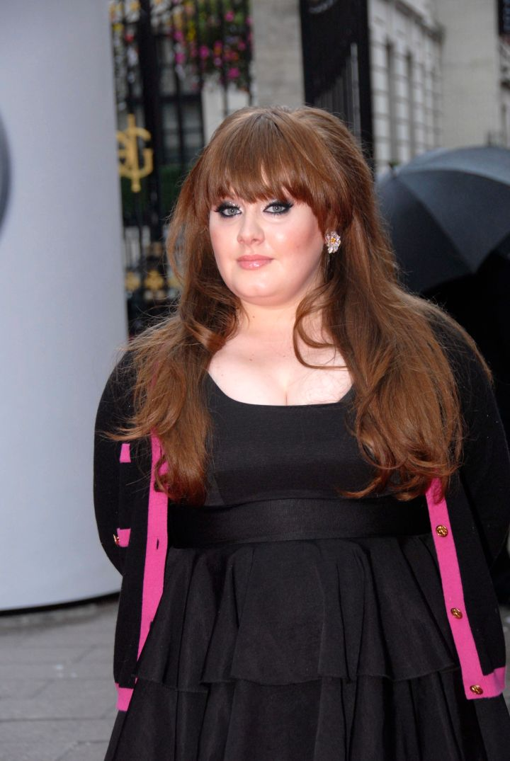 Yet to achieve success in the U.S., Adele was a force to be reckoned with in the UK.