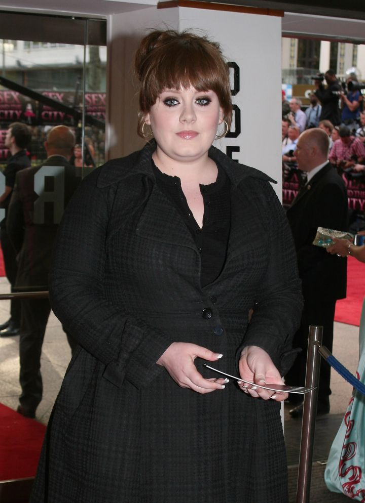 """21 was just starting production when Adele hit up the """"Sex and the City"""" premiere."""