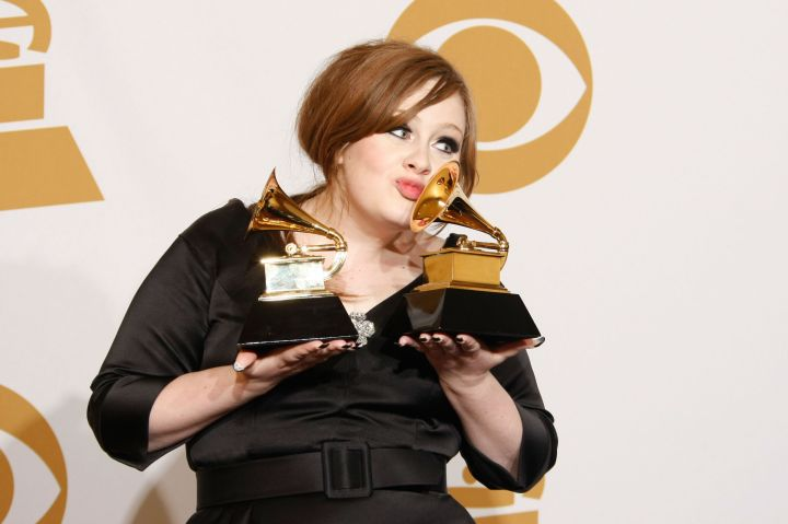 Finally, a Grammy for Best Female Pop Vocal Performance.