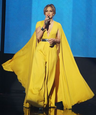 Jennifer Lopez at the AMA's