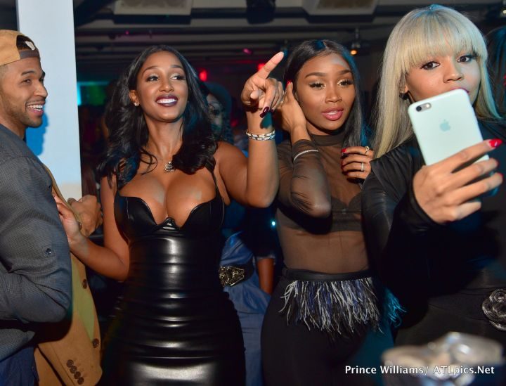A gathering of Drake's favorite girls.