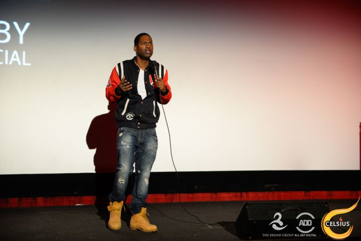 Tony Rock at the All Def comedy show in Hollywood.