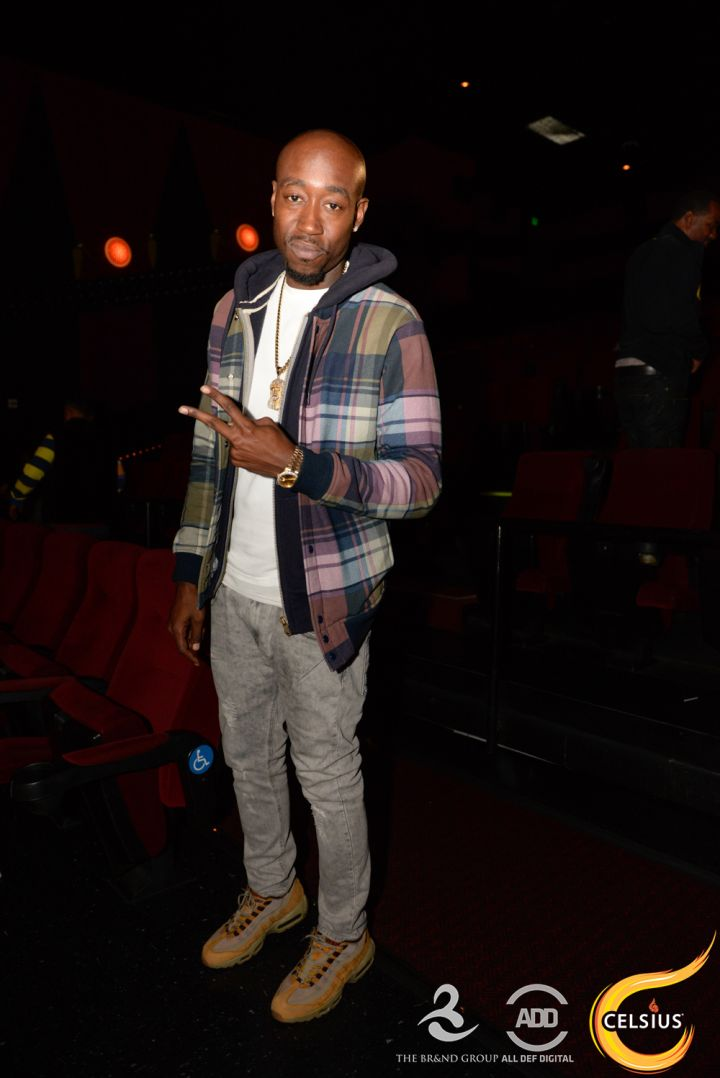 Freddie Gibbs at the All Def comedy show in Hollywood.