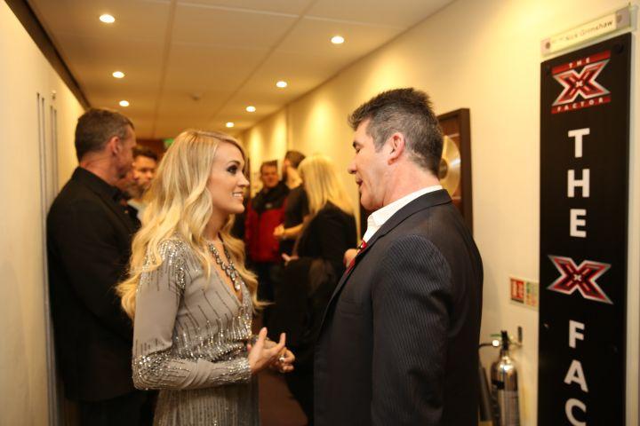 Simon Cowell, Carrie Underwood