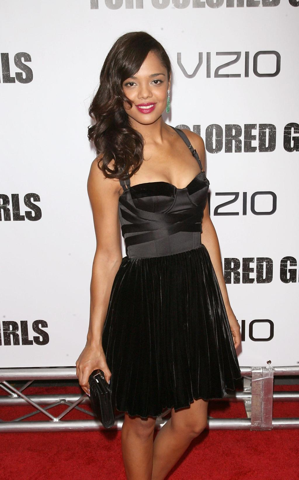 'For Colored Girls' New York Premiere - Outside Arrivals