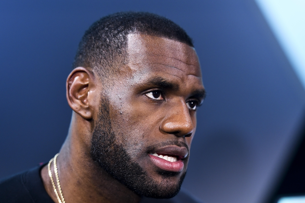 LeBron James Introduces Nike Lebron 12