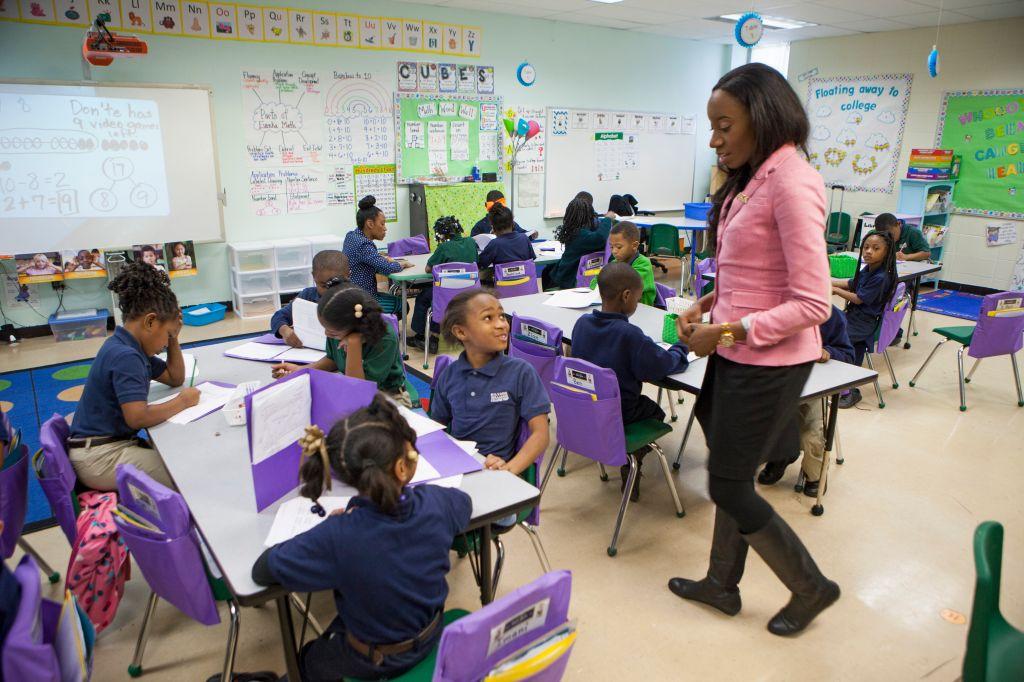 New Orleans Charter School Classroom