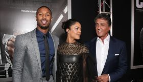 Premiere Of Warner Bros. Pictures' 'Creed' - Red Carpet