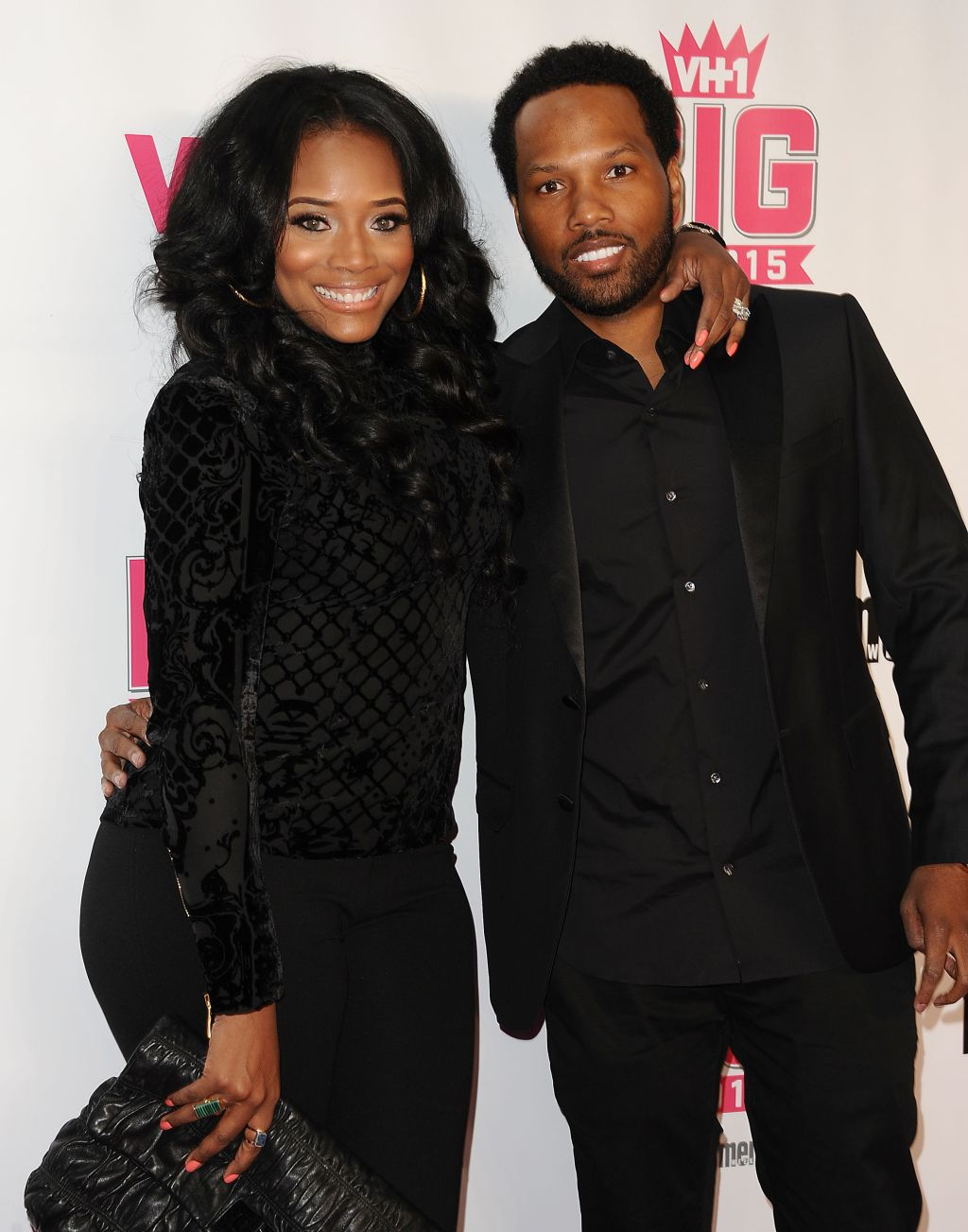 Mendeecees Harris and Yandy Smith at VH1 Big In 2015