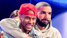 P Reign and Drake at the 2015 Much Music Awards