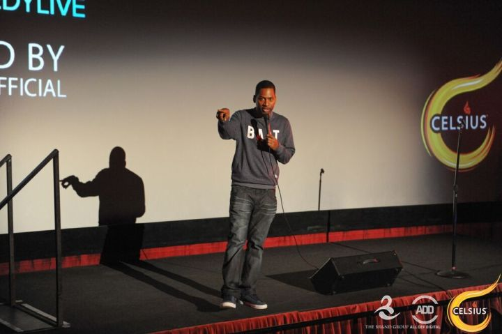 Tony Rock at the All Def Digital Comedy Party.