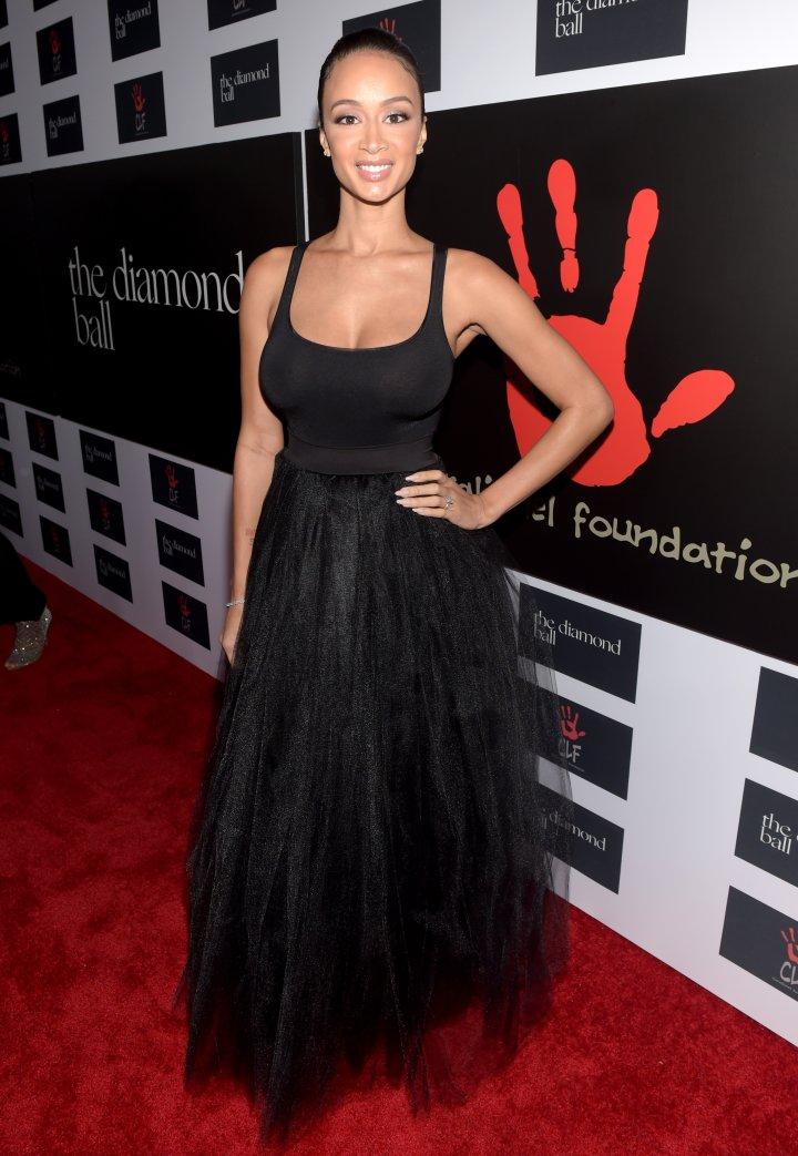 Draya rocked a classy black gown.