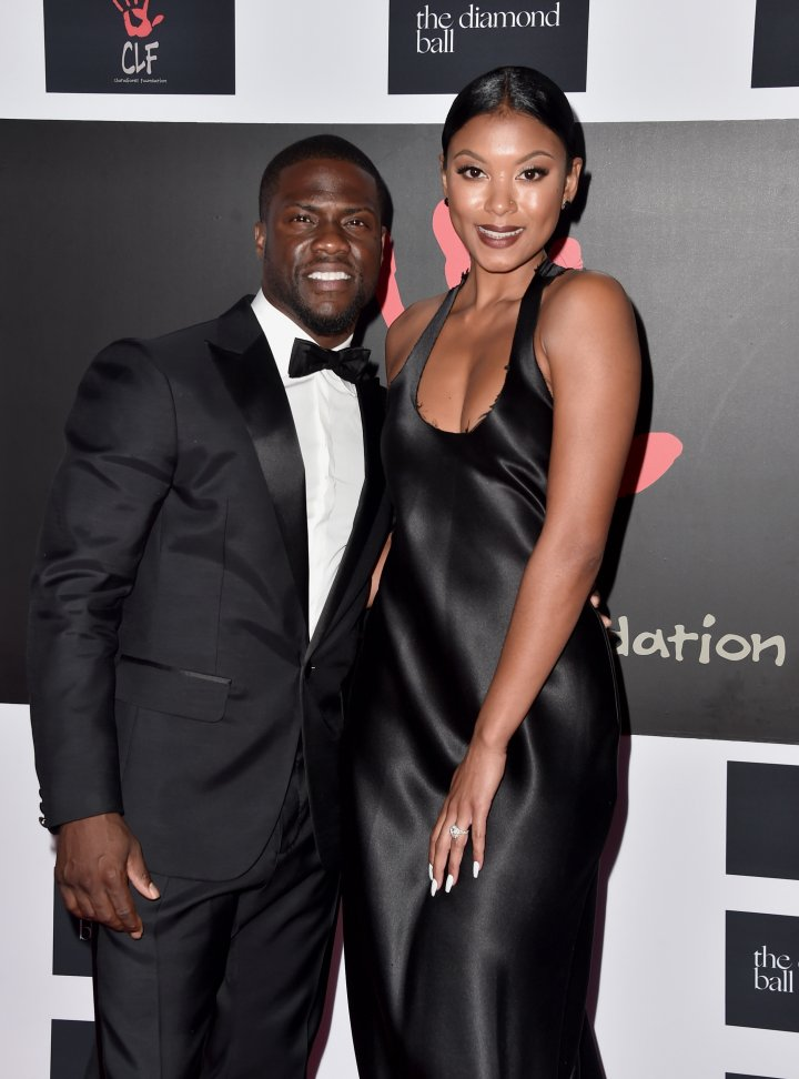Kevin Hart and his fiancee looked flawless.