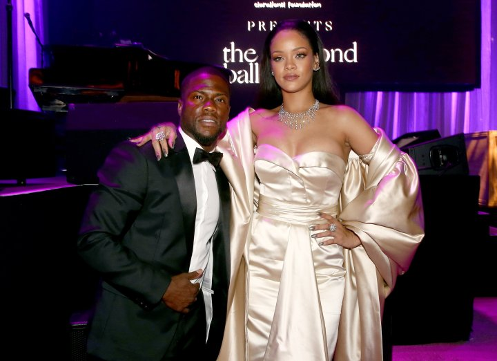 Kevin Hart hosted the star-studded event.