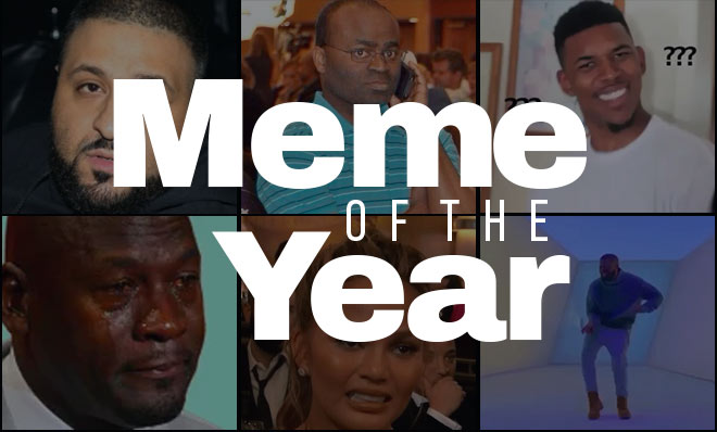 Social media awards 2015 meme of the year