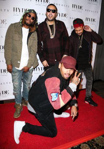French Montana, Chris Brown