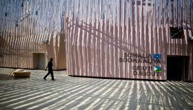 Somalia And Gibuti Pavilions. Expo Milano 2015
