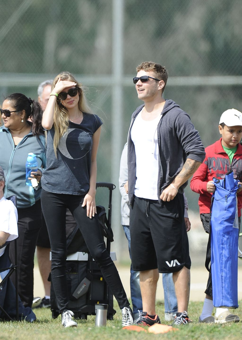 Ryan Phillippe and fiancée Paulina Slagter