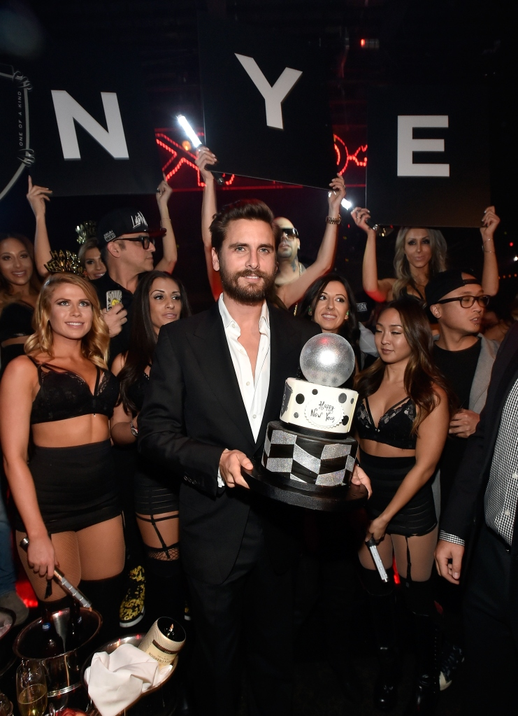 Scott Disick on NYE