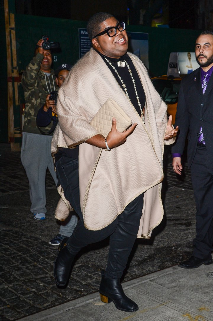 Then: EJ Johnson wasn't always lean and fit.