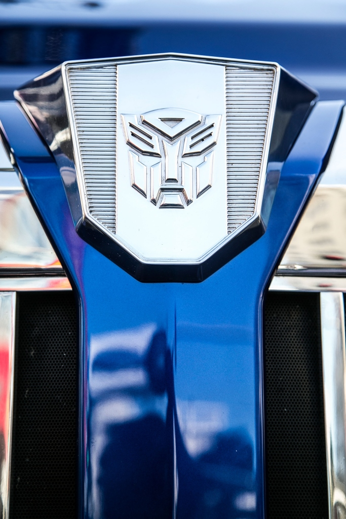 Transformer Optimus Prime Hand/Footprint Ceremony