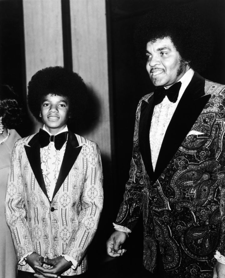 Preteen Michael Jackson took his parents as his date to the 1973 Golden Globes.