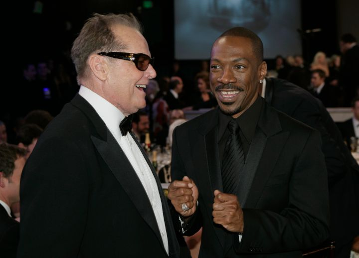 Jack Nicholson and Eddie Murphy shared some laughs.