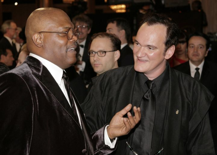 Samuel Jackson and his buddy Q got to catch up.
