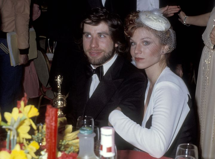John Travolta watched the show with his date in 1979.